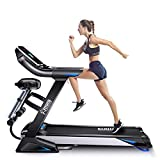 Fitifito keeps you in shape klappbares FT800 Profi-Laufband 3PS, 7' LED Display,...