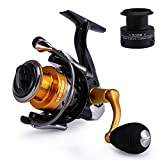 Mounchain Spinning Angelrolle, Baitcasting Angelrolle 14+1 Kugellager Angeln...