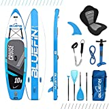 Bluefin Cruise SUP Board Set | Aufblasbares Stand Up Paddle Board | 6 Zoll Dick...