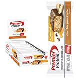 Premier Protein Bar Deluxe Chocolate Peanut Butter 18x50g - High Protein Low...