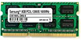 Samsung 3rd 8GB DDR3 1600MHz PC3L 12800S SO Dimm Low Voltage Notebook Laptop...