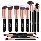 BESTOPE Pinselset Make up Pinsel Set Professionelle mit Gesichtspinsel...