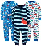 Simple Joys by Carter's Baby Mädchen 3-pack Snug Fit Footless Cotton...