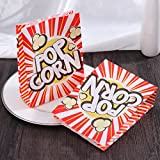TOYMYTOY Popcorn Tüte Popcorn-Boxen Pappe Party Candy Container Karton Candy...